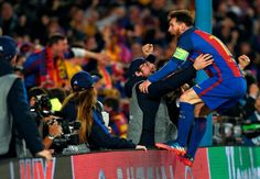 """""""Some of the best images from last season. Happy birthday Messi ❤️"""""""