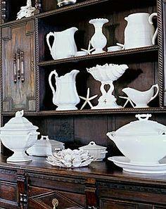wonderful white dishes :)