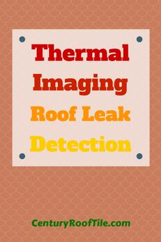 Thermal imaging leak detection is an exciting, powerful roof repair technology that developers and property owners around the Bay Area are using to save money and preemptively solve structural problems. Here's the gist about how the process works.