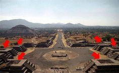 B&P_desde_Guayana: Plataformas de Aterrizaje de Teotihuacán
