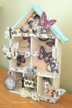 Kath's Blog......diary of the everyday life of a crafter: Butterflies Galore...
