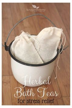 Easy Crafts To Make and Sell - Herbal Bath Teas - Cool Homemade Craft Projects You Can Sell On Etsy, at Craft Fairs, Online and in Stores. Quick and Cheap DIY Ideas that Adults and Even Teens Can Make http://diyjoy.com/easy-crafts-to-make-and-sell