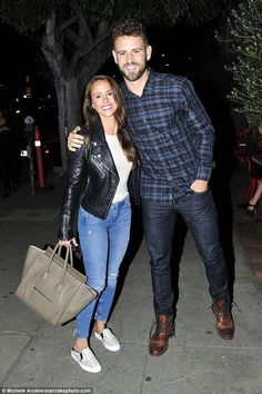 Finally free! Nick Viall and Vanessa Grimaldi enjoyed their first date night out in public on Tuesday after their engagement was revealed the night before