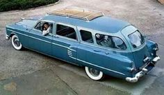 1953 Pakard 4DR. Station Wagon