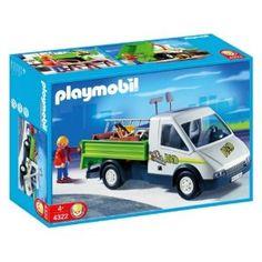 Playmobil - Kisteherszállító Ezzel a kisfurgonnal rengeteg árut el lehet szállítani. Az autó kiegészíthető a 4320-as kompakt távirányítóval is.