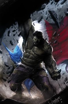#Hulk #Fan #Art. (Hulk) By: Francesco Mattina. (THE * 5 * STAR * AWARD * OF * ÅWESOMENESS!!!™)