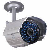 VideoSecu Day Night Vision Weatherproof 520TVL Home Bullet Security Camera 36 IR Infrared LEDs with IR Cut Filter Switch for CCTV DVR Surveillance System WK2 (Electronics)By VideoSecu