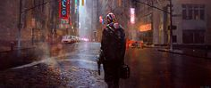 Heist by Alexander Mandradjiev  SO evocative. I can see an entire movie playing out just from this one image. Amazing. Via: cghub.com/images/view/585607/