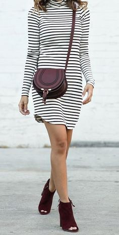 Striped Outfits http://laceandlocks.com/blog/page/3/