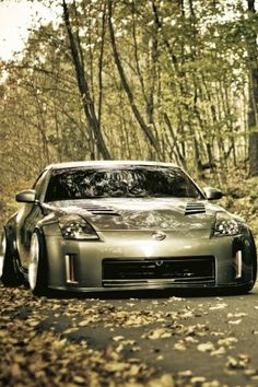 Z with the same body kit.. but in Silver.. @Icemanz - we can match? :D