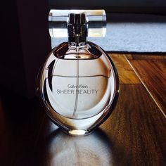 Calvin Klein Sheer Beauty Perfume women's Brand new never been used!! Sheer Beauty Perfume women's. Bought for my Mother, but she gets headaches from stuff like this so need to sale. Cost $79.00 when I bought, but can't return because I bought this out of town. 1.7FL oz. biggest bottle they have. Calvin Klein Accessories
