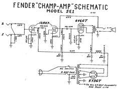 fender blonde bassman tube amp schematic model 6g6 guitar fender champ tube amp schematic model 5e1