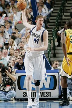 Shawn Bradley, who played for the Dallas Mavericks from 1996 to 2005.