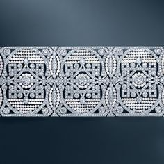The Great Gatsby (2013) | Diamond & seed pearl bracelet from Tiffany & Co.'s Gatsby collection.