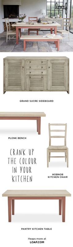 Chow down on our new kitchen tables, benches and chairs. Because they're made of chunky oak, they can take the sort of punishment that British families dish out! British Family, Comfy Sofa, Grey Skies, Kitchen Tables, New Kitchen, Benches, Sofas, Families, Dish