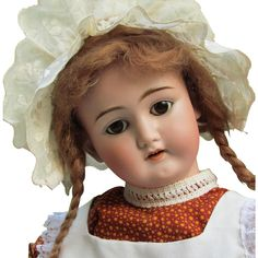 "22 ½"" Antique German Doll by Quendt and Schüetzmeister ~~Mold 101~~ Beautiful Condition ~~"