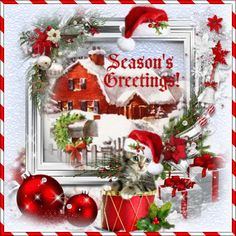 Seasons greetingsholiday cheer section wish anyone happy holidays send your greetings of the season from your home to theirs free online greetings of the season ecards on seasons greetings m4hsunfo Gallery