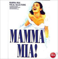 ABBA - Mamma Mia! Book Vocal Selections. Musical BOOK When All Is Said And Done.