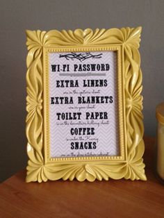Guest Room Must Haves: How to make a guest room welcome basket: