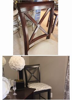 For the Love of Decorating!: Dining Room Chair Redo