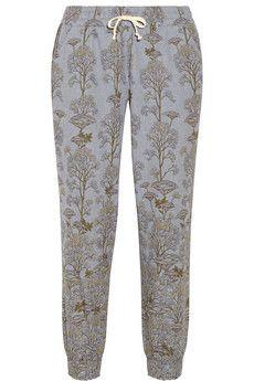 Suno Printed cotton track pants | NET-A-PORTER