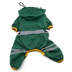Cheap dogs pets jacket, Buy Quality dog puppy clothing directly from China dog raincoat glisten hoody Suppliers: Pet Jackets Clothing Dog Raincoat Clothes Puppy Glisten Bar Hoody Waterproof Rain Jackets Dog Raincoat, Raincoat Jacket, Yellow Raincoat, Hooded Raincoat, Hoodie Jacket, Dog Hoodie, Green Costumes, Baby Costumes, Waterproof Rain Jacket