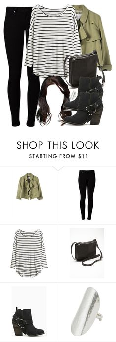 Allison Inspired Outfit with Requested Shoes by veterization on Polyvore featuring Vero Moda, Shoe Cult, Forever 21 and People Tree