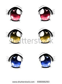 Doll Eyes, Doll Face, Cartoon Eyes, Asian Doll, Anime Style, Clay Art, Flower Pots, Chibi, Sketches