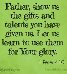 - This word is for someone, or some persons, who think they are out of time. The message is for those who wish to serve God, but think there will be no opportunity. - - You have a talent but… Bible Scriptures, Bible Quotes, Prayer For My Children, Mom Prayers, Prayer Times, Gods Glory, Talent Show, Prayer Board, Spiritual Inspiration