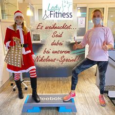 Jetzt wird es weihnachtlich.... Zum Beispiel mit unserem Nikolaus-Special am 6.12. von 11.00 - 12.30 Uhr. Dieser Kurs ist eine Mischung aus Thai Bo, Step und BOP! Startet fit in den Nikolaustag! Nichtmitglieder sind herzlich willkommen!!! Wir freuen uns auf Euch! 💪🏻💫😉 #LadyFitnessWerne #Werne #Fitness #Onlinekurse #TrainingzuHause