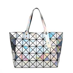 New hollywood trend women high quality brand designers handbags holographic bao bao bag,best gift for her