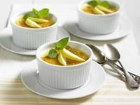 Michigan Apple Recipes - Apple Creme Brulee