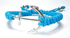 Unisex Anker Armband Charms anchor Armreif Schmuck von Geralin-Gioielli auf DaWanda.com