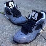 "Air Jordan IV ""All Over Cement"" by DeJesus Customs"