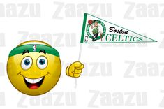 Fanoušek Boston Celtics