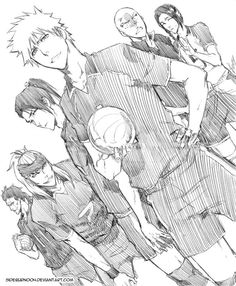 Haikyuu!! x Bleach crossover .... i wonder how much of the court would be left when they finished a match?