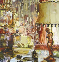 Lady in the Lamp - Page Laughlin
