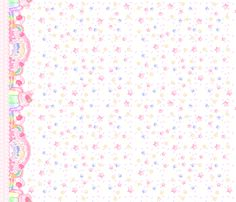 Sugar Party: White fabric by dreamcircus on Spoonflower - custom fabric