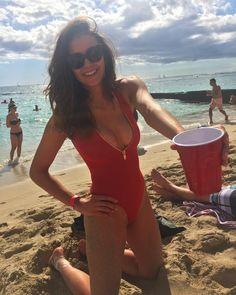 60 Sexy and Hot Nina Dobrev Pictures – Bikini, Ass, Boobs - Sharenator One Piece Swimwear, Bikini Swimwear, One Piece Swimsuit, Bikinis, Swimsuits, Bikini Beach, Bikini Babes, Beach Pink, Beach Babe