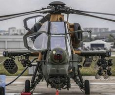 choppers attack and tactical reconnaissance helicopter produced by Turkey were delivered to the Turkish Land Forces after training of the flight. Attack Helicopter, Military Helicopter, Military Jets, Military Weapons, Military Aircraft, Turkish Military, Turkish Army, Jet Plane, Armored Vehicles