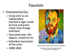 intro to painting high school Fauvism, Saturated Color, Pastels, High School, Google Search, Artist, Painting, Fauvism Art, Grammar School