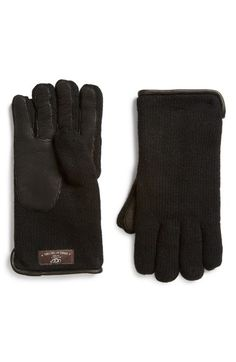 UGG® Australia Wool Blend Gloves available at #Nordstrom