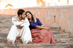 Pre - wedding photo shoot # Amer Fort , Jaipur # Harshita-Rajiv