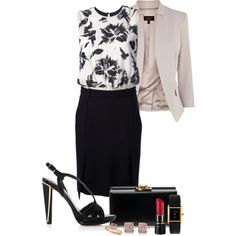 A fashion look from September 2013 featuring By Malene Birger dresses, Coast blazers and Diane Von Furstenberg sandals. Browse and shop related looks.