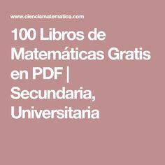 Libros de Matemática Gratis y en PDF .:   LIBROS DIGITALES ...