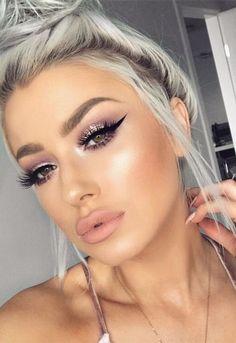 Fashion Make-up Herbst - Beste Trend Mode Flawless Makeup, Glam Makeup, Gorgeous Makeup, Pretty Makeup, Skin Makeup, Makeup Inspo, Makeup Inspiration, Beauty Makeup, Makeup Tips
