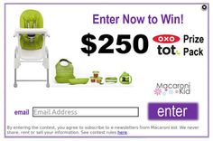 Subscriber Contest! Enter to win an OXO prize pack | Macaroni Kid @OXO Tot