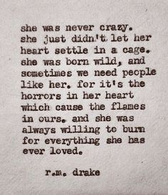 Yes I have and I always will my heart is my weakness and love is my strength I have too much soul to do anything without passion or love