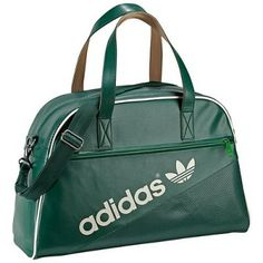 Bolsa Adidas Women s Perforated Holdall Bag Forest White G84973  Adidas  Bolsa Avion aadda841fd0a0