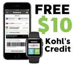 FREE $10 Kohl's Cash for Download App - http://www.swaggrabber.com/?p=309267